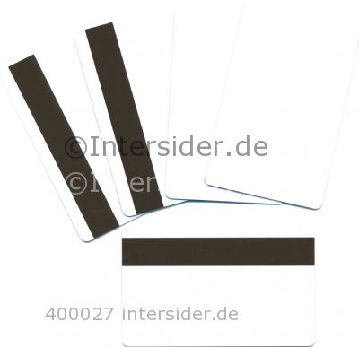 Rewritable Cards Front PVC Magstripe HiCo Back