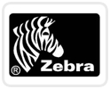 Zebra white 10 mil PVC cards CR 80